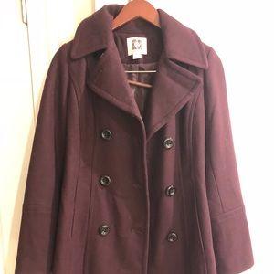 Women's Anne Klein Pea Coat